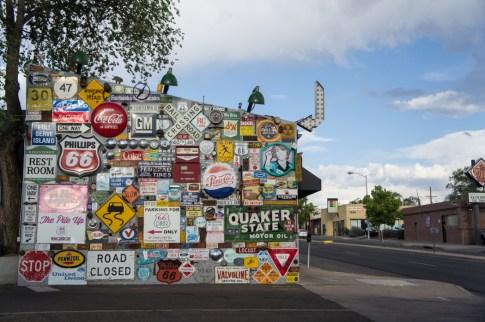 Diner 66 Route 66 Albuquerque Nouveau Mexique vintage old signs