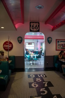 Diner 66 Route 66 Albuquerque Nouveau Mexique classic diner