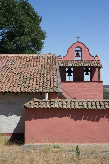 Eglise rose Purisima Mission Californie