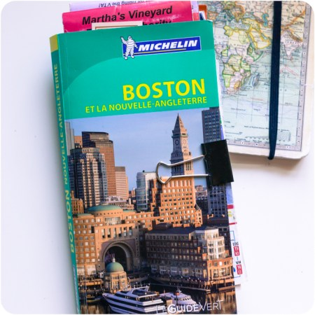 Boston et la Nouvelle Angleterre guide vert Michelin auteur Mathilde Piton