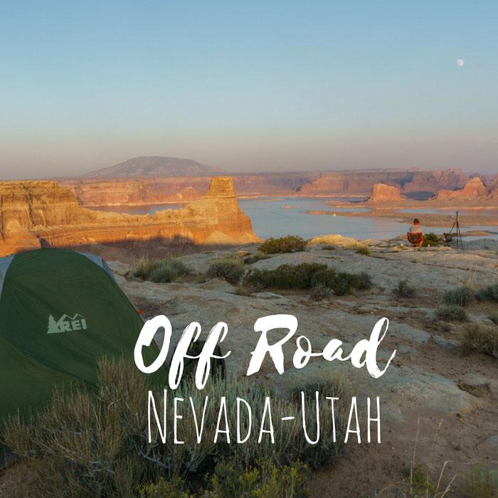 Road trip Nevada Utah