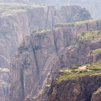 Black Canyon of the Gunnison - National Park - Colorado - road trip Etats-Unis - 1