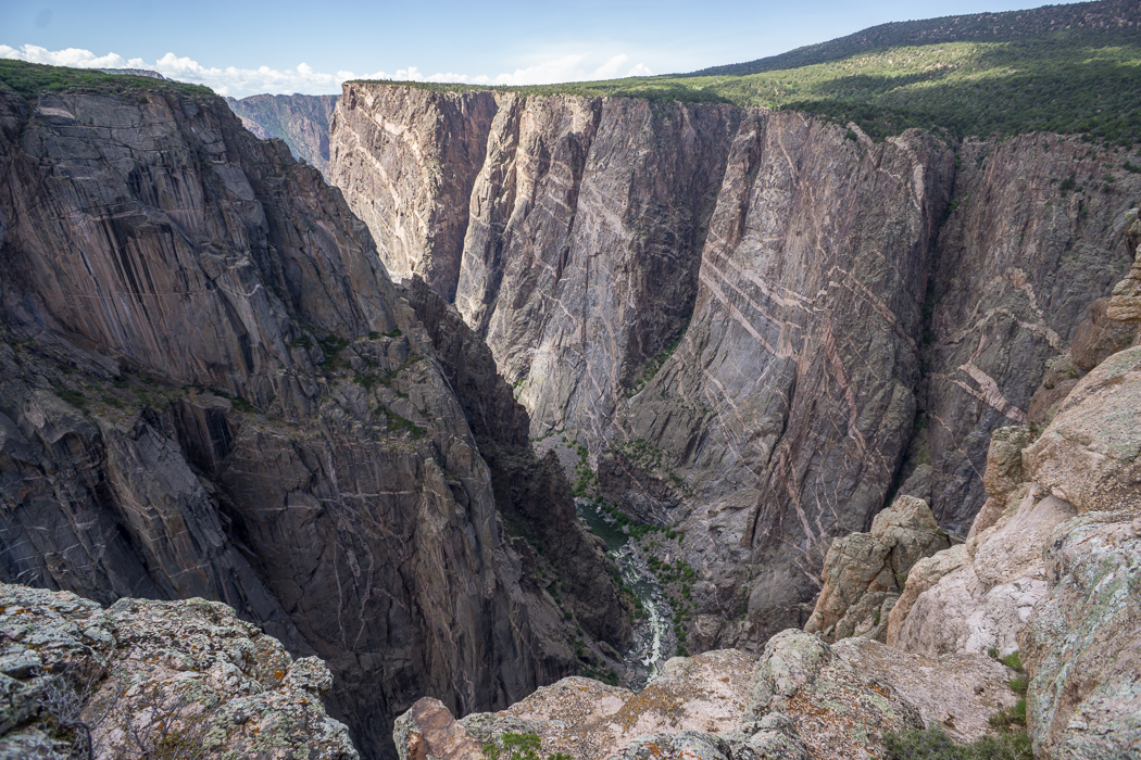Black Canyon of the Gunnison - National Park - Colorado - road trip Etats-Unis - Gorge