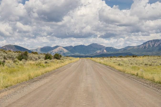 Black Canyon of the Gunnison - National Park - Colorado - road trip Etats-Unis - North Vista Trail la route
