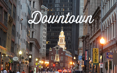 Downtown Boston visite guidée
