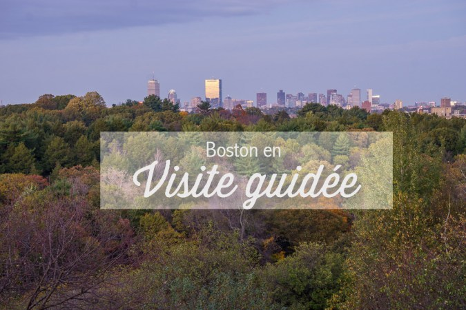 visite guidée boston