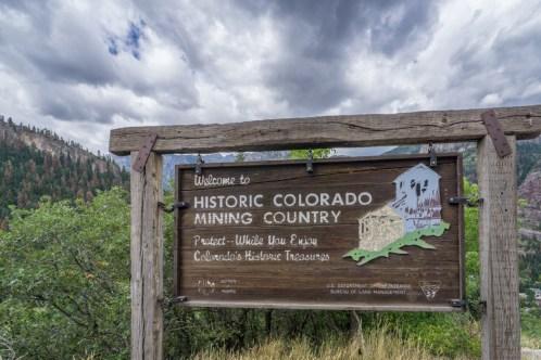 Colorado road trip - le pays de la mine