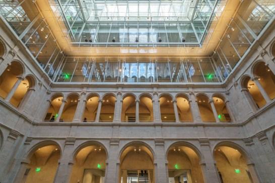 Harvard Art Museum - courtyard
