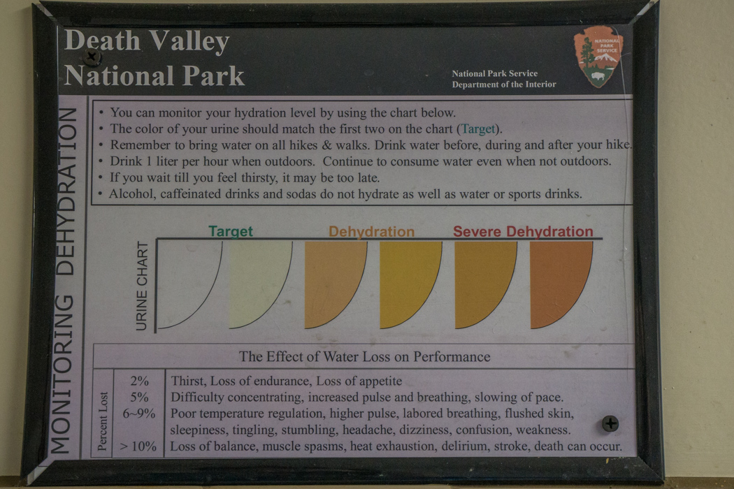 death valley california - le pipi