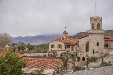 death valley california - le chateau de Scotty