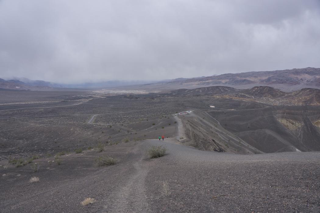 death valley california - cratère