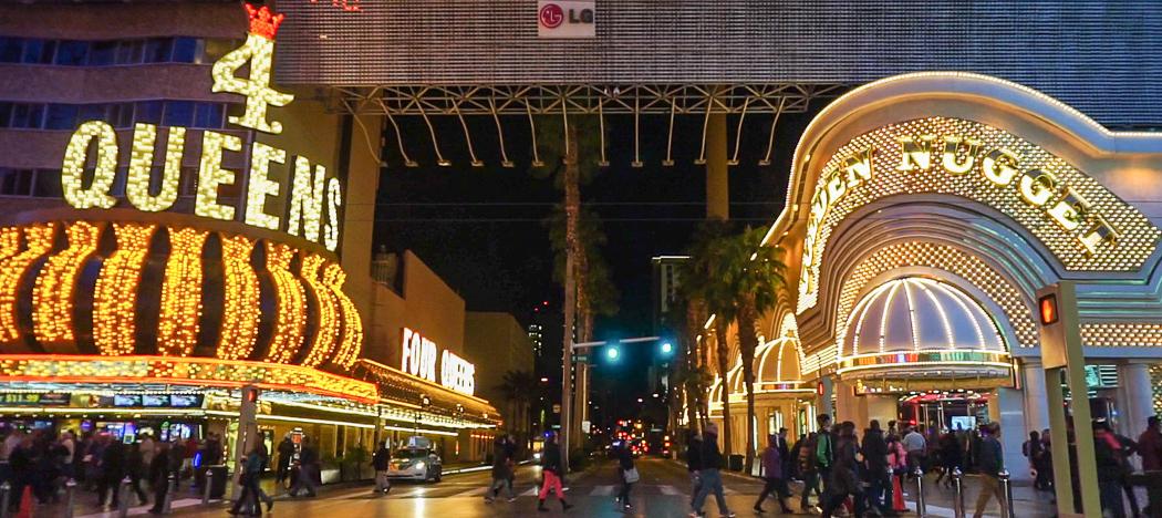 North Las Vegas by night