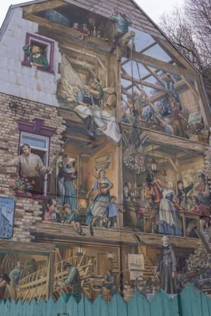 Visite de la ville de Quebec- Place Royale