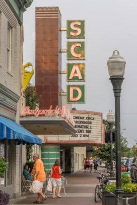 Visiter Savannah Georgie - vieux cinéma