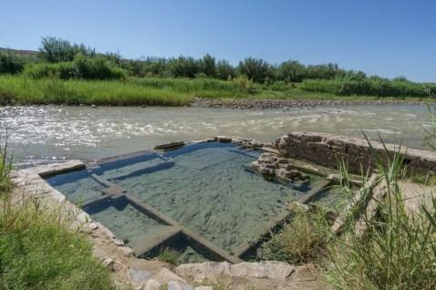 Big Bend Texas - Hot spring