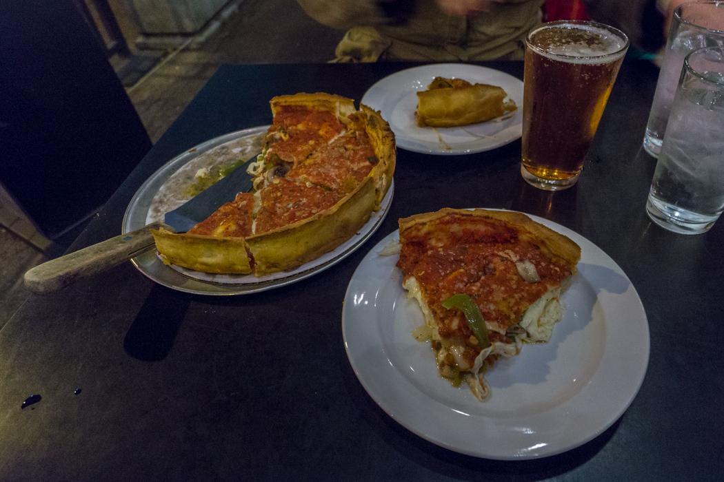 pizza deep dish chicago