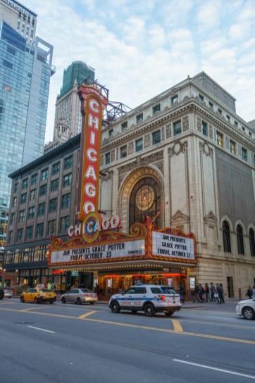 Visiter Chicago theatre chicago