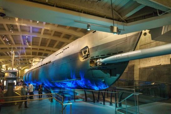 Visiter Chicago - musee des sciences et des techniques sous marin
