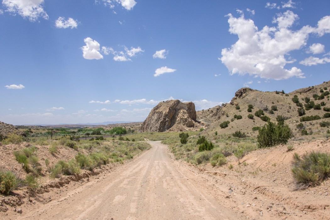 LA route de la turquoise nouveau mexique route