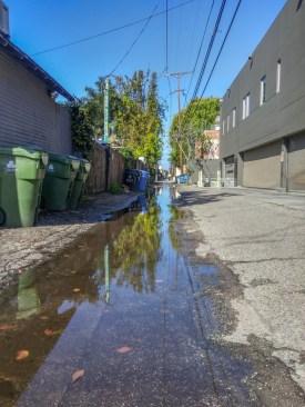 Pluie Venice Beach Los Angeles California-12