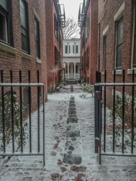 Vivre a Boston sous la neige