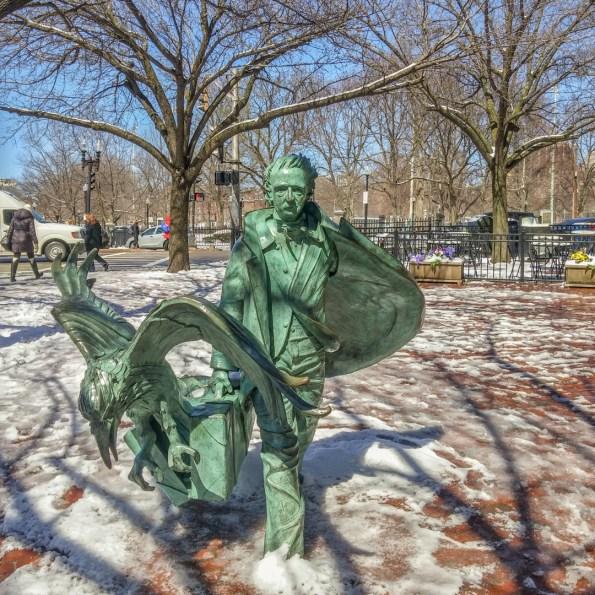Vivre a Boston - Edgar Allan Poe