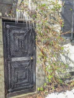 Vivre a Boston - sculpture ephemere glace