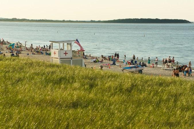 Crane Beach Massachusetts Nouvelle Angleterre