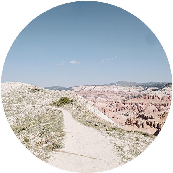 Ramparts Trail Cedar Breaks National Monument Utah