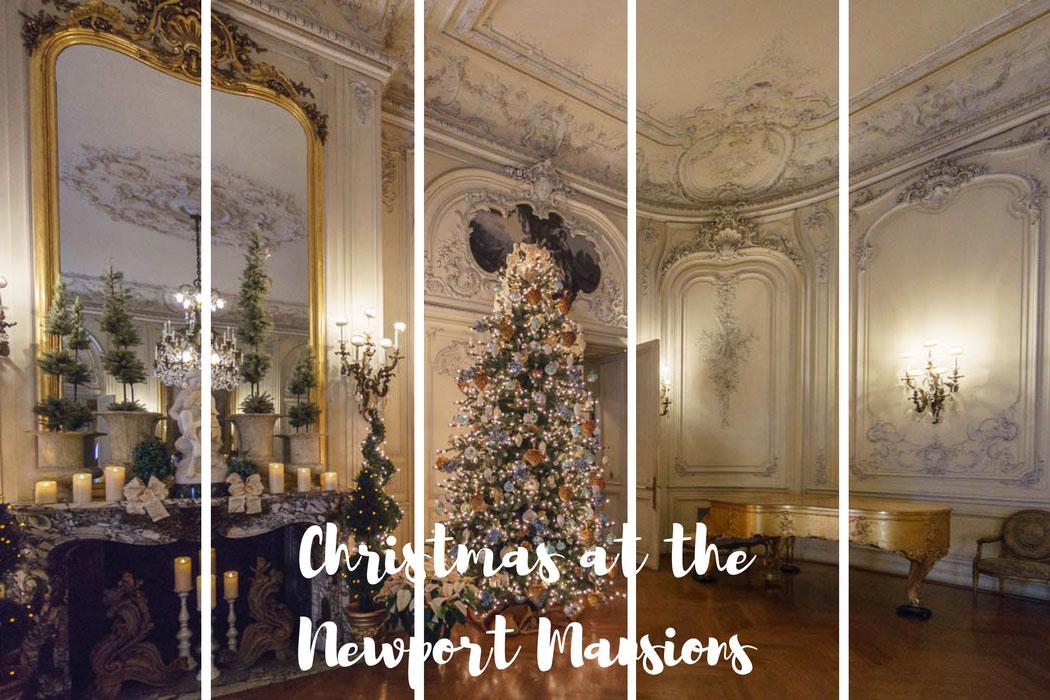Christmas Newport Mansions