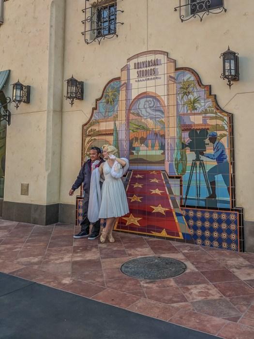 Marylin Monroe Universal Studios Los Angeles-7-2
