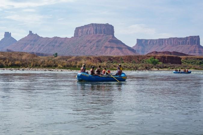 Rafting moab utah 6