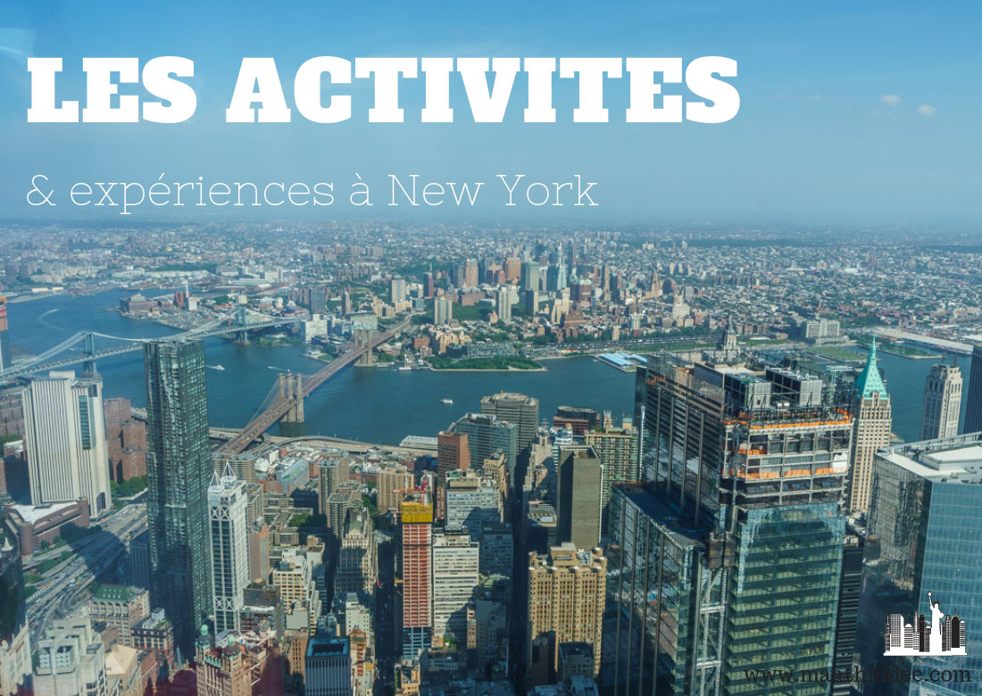 Activites et experiences a new york