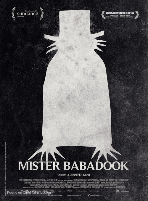 The babadook french movie poster