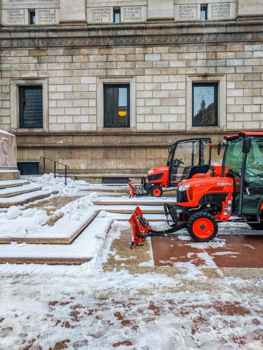 La neige en hiver a boston 2