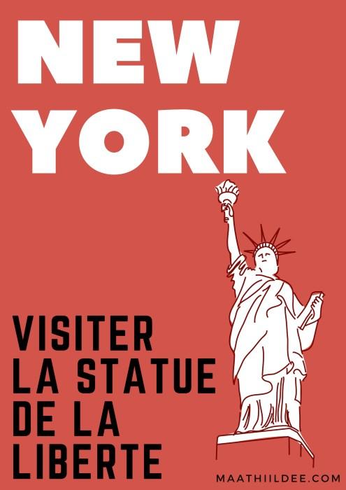 Visiter la statue de la liberte