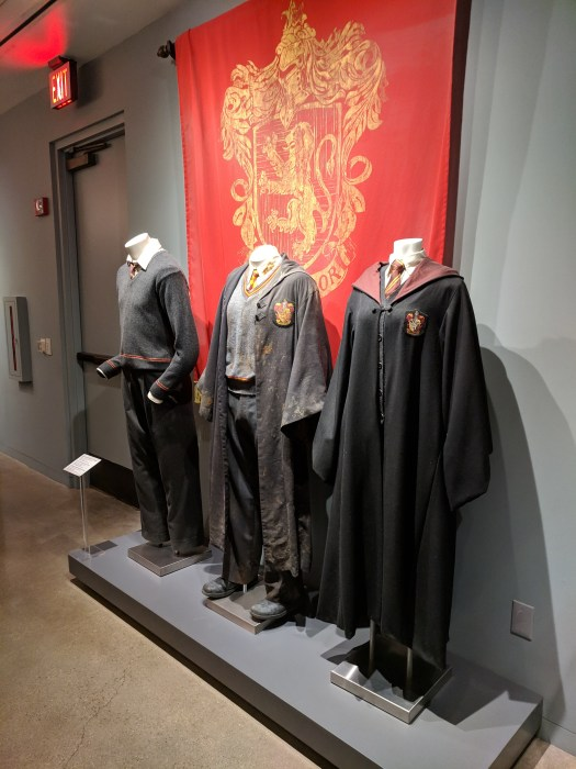 Costumes Harry Potter Warner Studios
