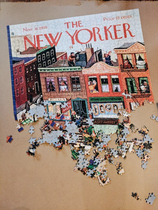 Puzzle new yorker