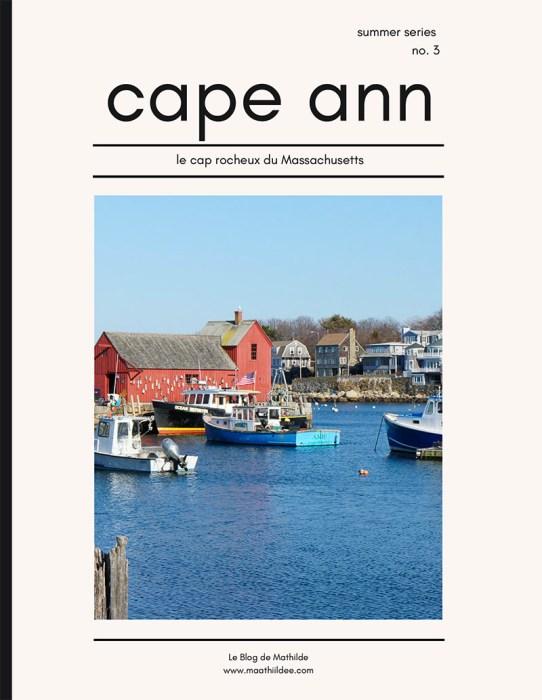 Cape ann cover