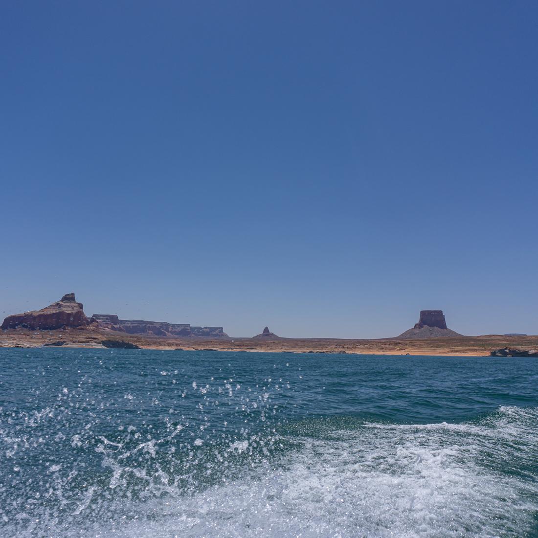 Lake powell en bateau 5