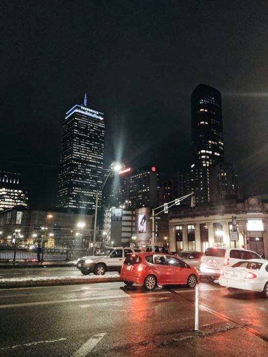 Back Bay Boston By night Le BLog de Mathilde