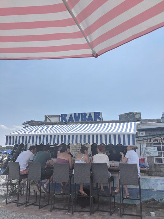 Raw bar cape cod