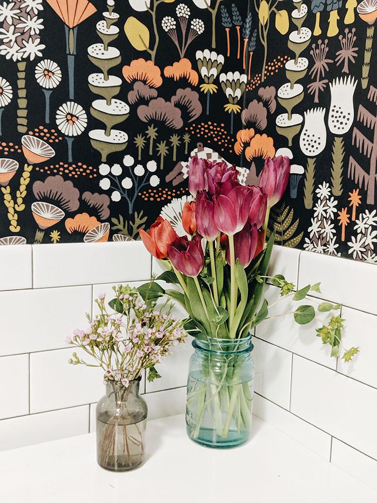 Fleurs toilettes le blog de mathilde