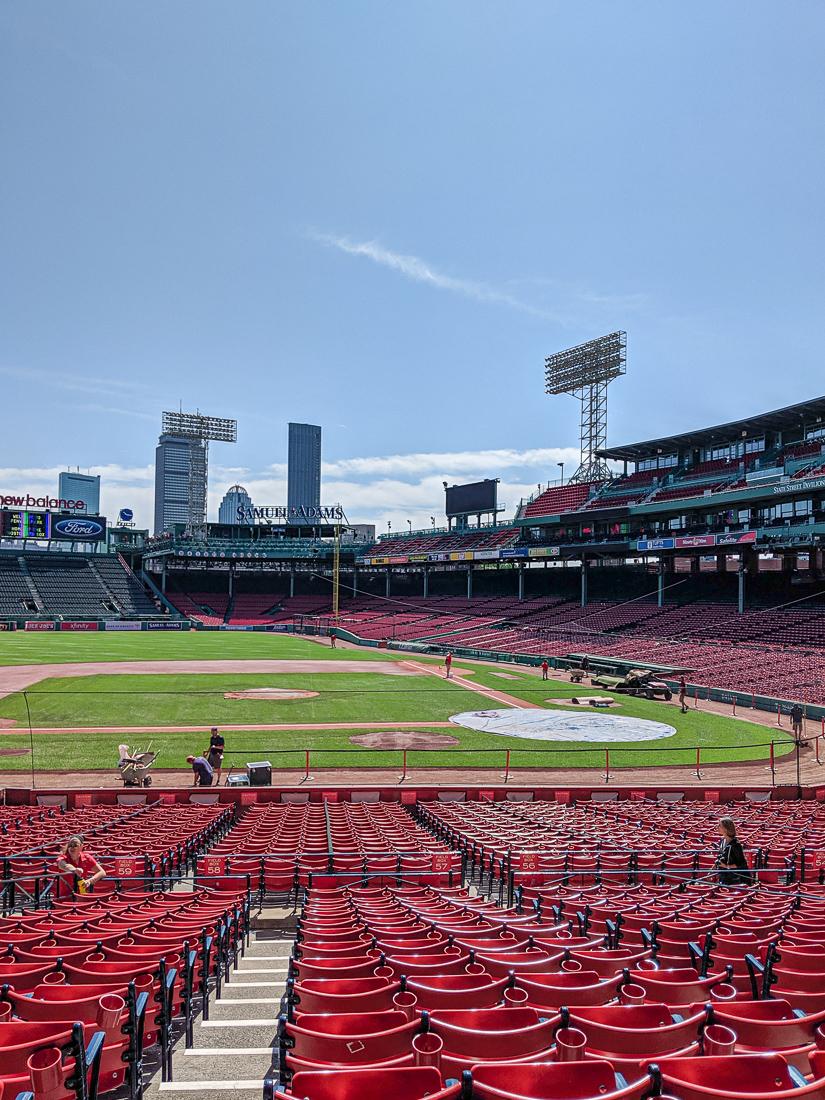 Visiter fenway park le stade de base ball de boston le blog de mathilde 1