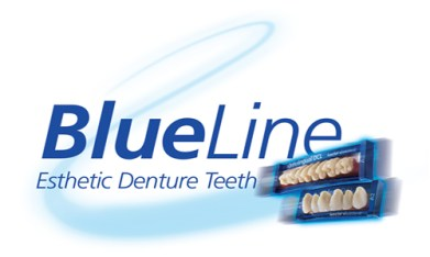 IvoClar BlueLine Teeth