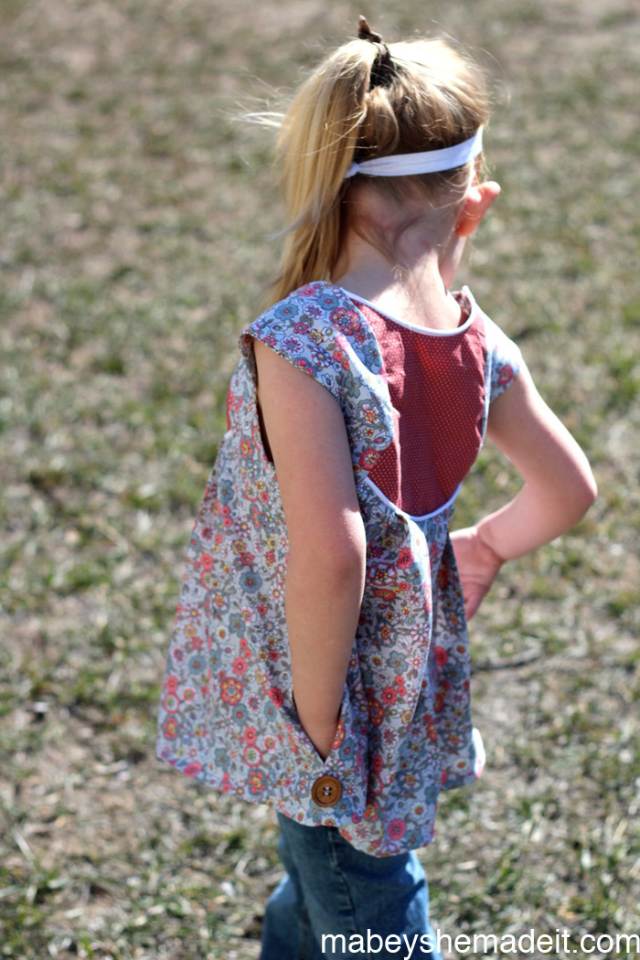 Fawning over the Fawn Lily Top | Mabey She Made It #fawnlily #sewing #kidsclothes #willow&co
