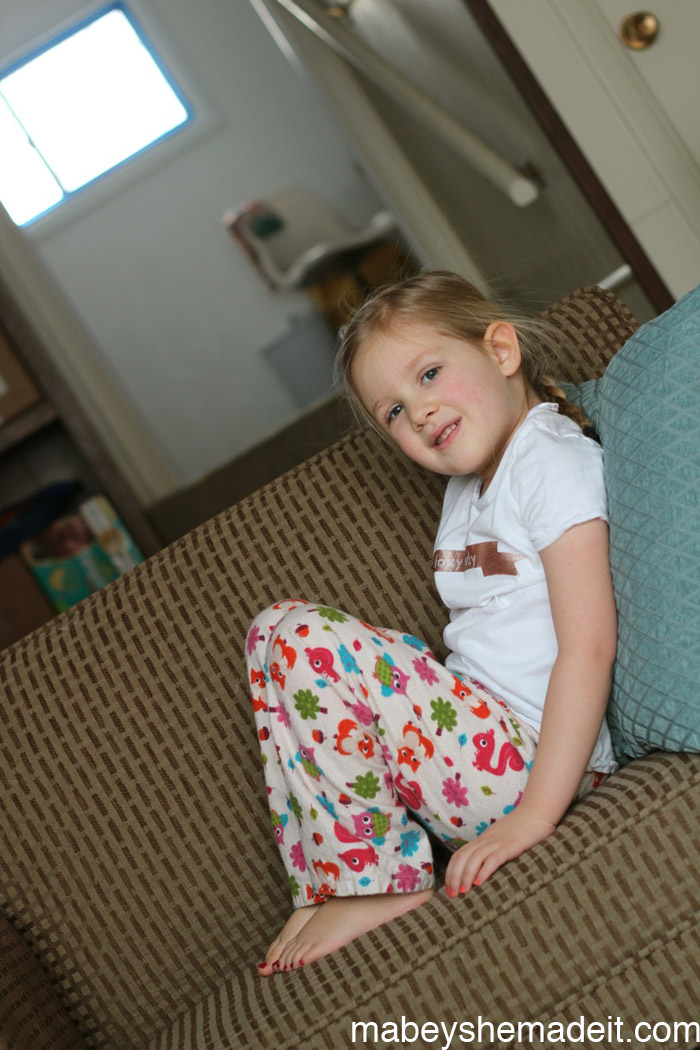 Foxy Lady Pajamas and 43 Silhouette Projects | Mabey She Made It #silhouette #sewing #kidsclothes