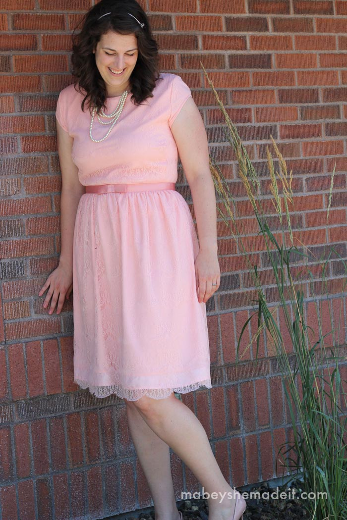 Lengthening a Dress Tutorial | Mabey She Made It