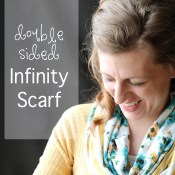 Double-sided Infinity Scarf Tutorial