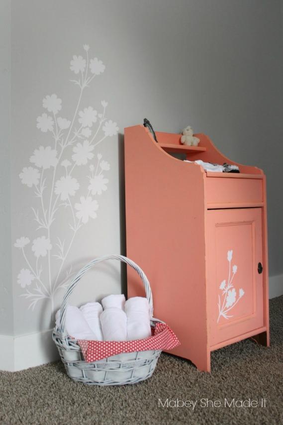 Wallternatives Nursery Decor | Mabey She Made It | #vinyl #wallternatives #nursery